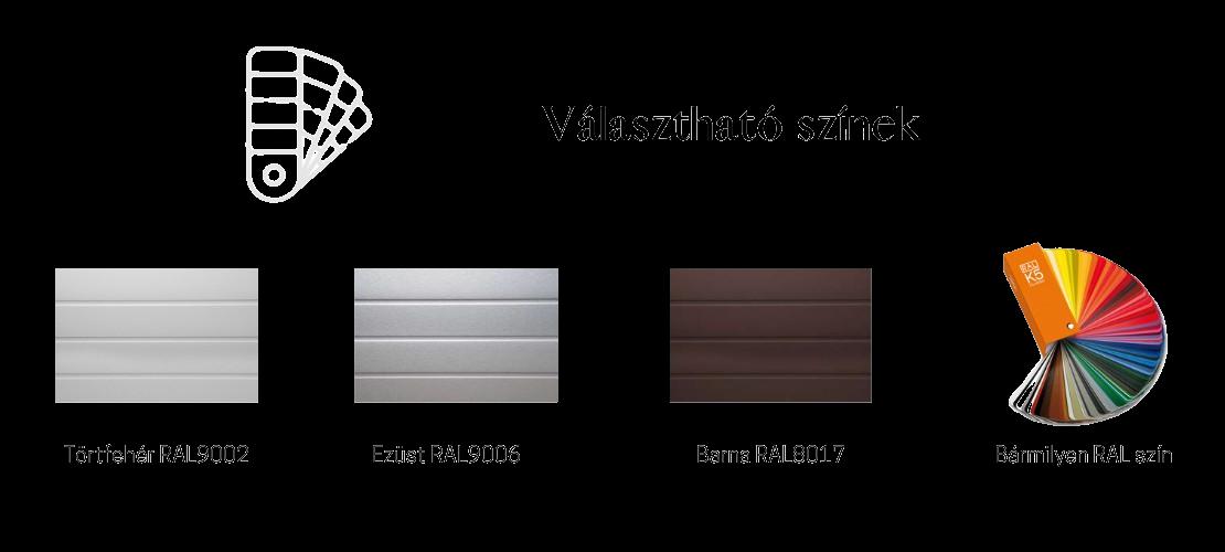 Linea választható színek